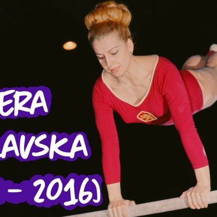 Vera Caslavska Gymnastics Tribute