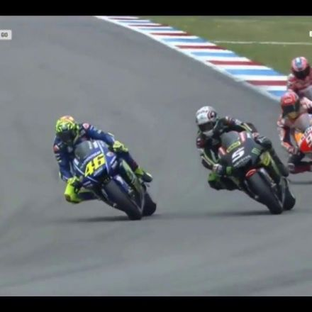 Valentino Rossi makes history at Assen.