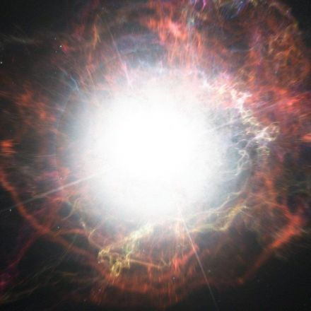 A one-of-a-kind supernova was seen exploding — over and over again
