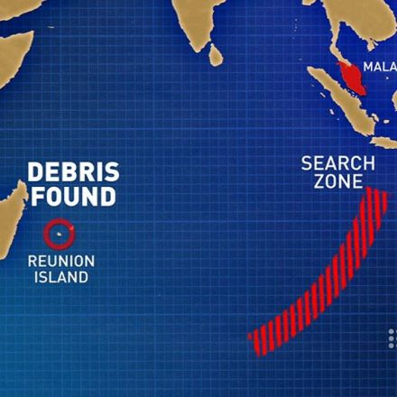 Suitcase found as experts race to verify whether wreckage found on Reunion Island is MH370
