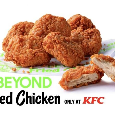 Beyond Meat expands plant-based fried chicken at KFC