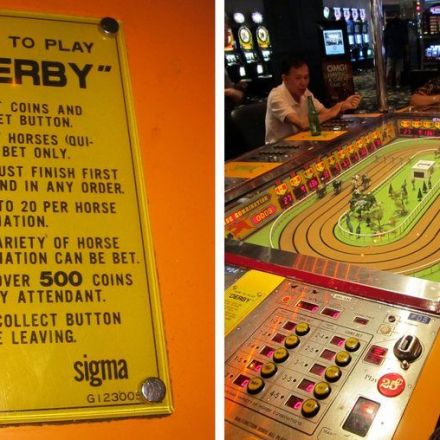 Time Is Running Out for a Beloved Mechanical Horse-Race Game in Vegas